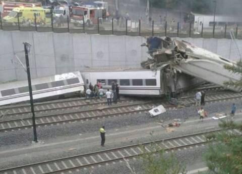 Ισπανία: Μεγαλώνει ο αριθμός των νεκρών από τον εκτροχιασμό του τρένου