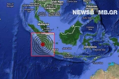 Σεισμός 5,2 Ρίχτερ στη Σουμάτρα της Ινδονησίας