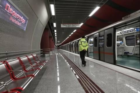 Στη κυκλοφορία, από αύριο οι νέοι σταθμοί του μετρό