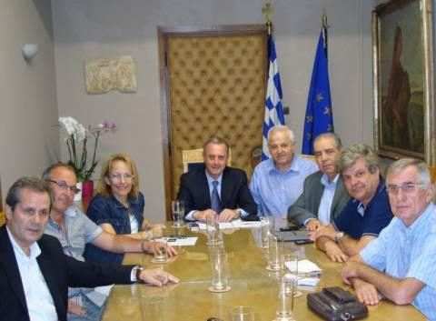 Συνάντηση υφυπουργού Υγείας με τον πρόεδρος του ΕΟΠΥΥ