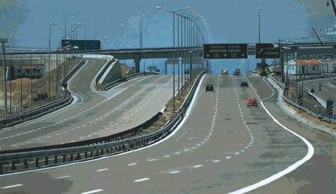 Κλειστή η γέφυρα Σχιστού λόγω εργασιών