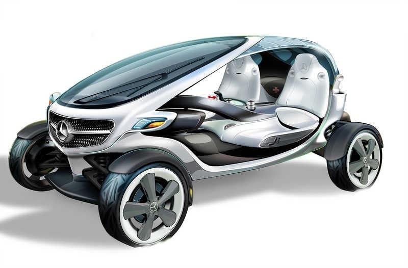 Mercedes Vision Golf Cart: Το πρωτότυπο ενός αμαξιδίου του γκόλφ