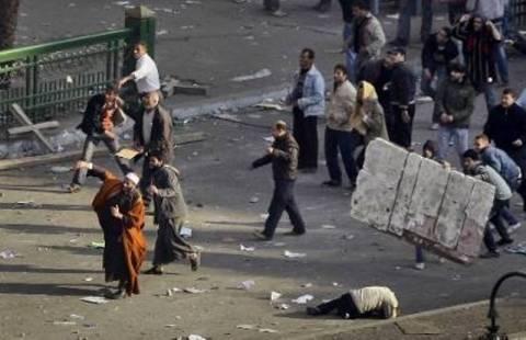 Πετροπόλεμος στην πλατεία Ταχρίρ