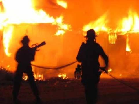 Στις φλόγες μονοκατοικία στα Σφακιά