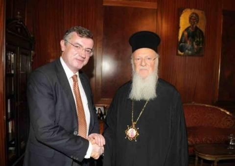 Συνάντηση υφ. Εξωτερικών με τον Οικουμενικό Πατριάρχη στο Φανάρι