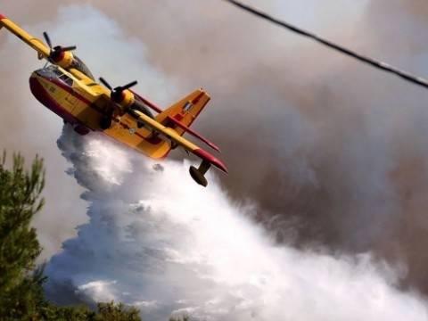 Καίγεται η Ρόδος – Υπό έλεγχο η φωτιά σε Σέριφο και Κρήτη