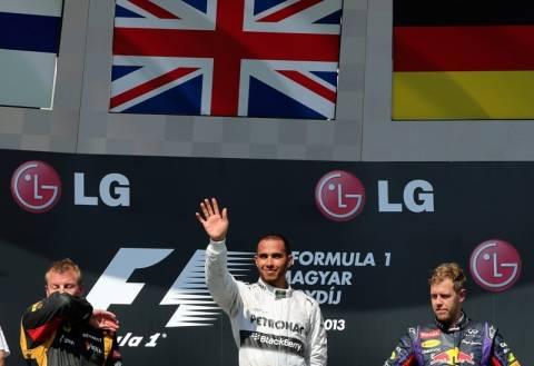 Formula 1: Έσπασε το ρόδι o Χάμιλτον στην Ουγγαρία