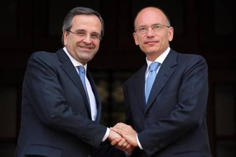 Αλληλεγγύη και συνεργασία Ελλάδας – Ιταλίας