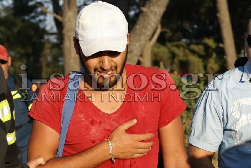 Πράκτορες των Τούρκων οι «πρόσφυγες» που έκαψαν τη Σάμο