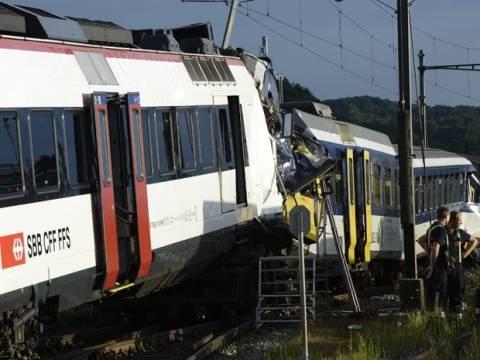 Ελβετία: Πέντε από τους επιβάτες των τρένων είναι σε κρίσιμη κατάσταση