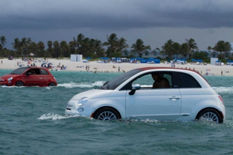 FIAT 500: Και αμφίβια