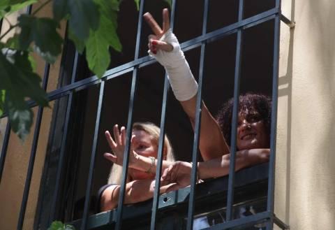 Ελεύθεροι οι 8 από τους 9 συλληφθέντες στον Υμηττό