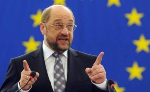 Σουλτς σε Ομήρου:Τα προγράμματα στήριξης αγνοούν τη Δημοκρατία!