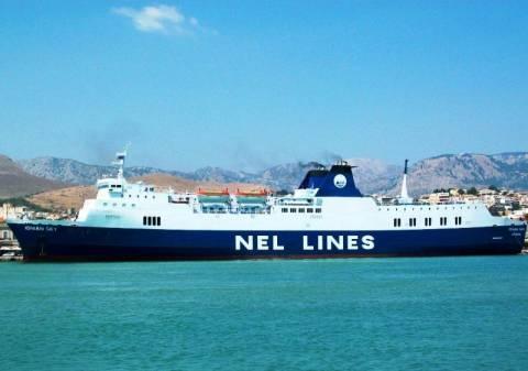Μηχανική βλάβη και καθυστέρηση σε δρομολόγιο επιβατικού πλοίου