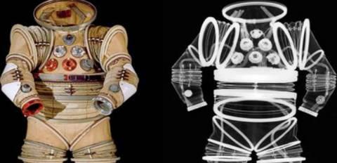 Δείτε το εσωτερικό της στολής των αστροναυτών