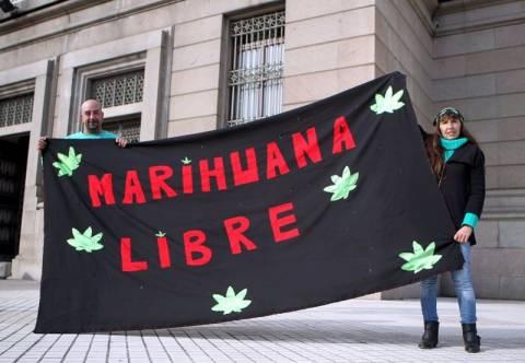 Νομιμοποιήθηκε η μαριχουάνα στην Ουρουγουάη