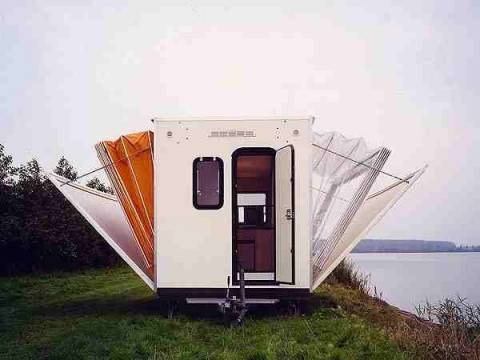 Εντυπωσιακό κινητό σπίτι! (pics)