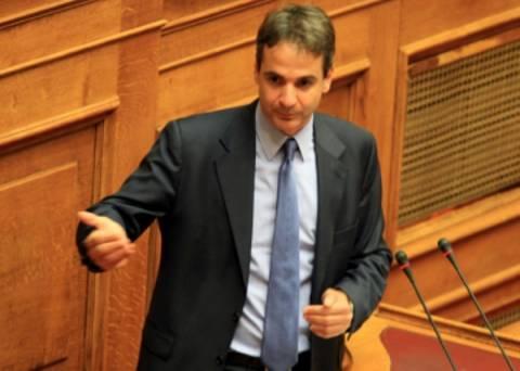 Επίθεση Μητσοτάκη στον ΣΥΡΙΖΑ υπεραμυνόμενος της τροπολογίας του
