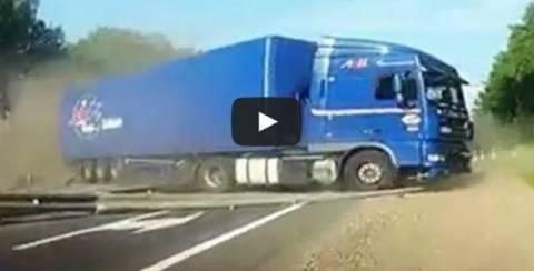 Βίντεο: Ογκώδη... ατυχήματα στους δρόμους της Ρωσίας