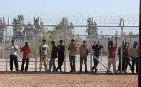 Λαύριο: Έρευνα της Αντιτρομοκρατικής στο Κέντρο Υποδοχής Προσφύγων
