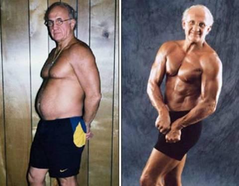 Εξωπραγματικό: Ένας 73χρονος παππούς με σώμα... 20άρη! (pics)