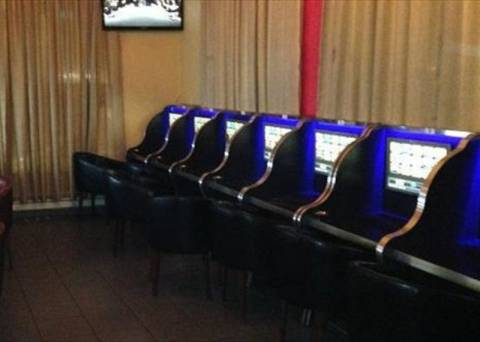 Eντόπισαν «μίνι καζίνο» στο Νέο Κόσμo