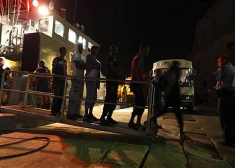 Πετρελαιοφόρο μετέφερε Αφρικανούς λαθρομετανάστες