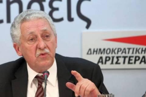 Κουβέλης: «Όχι» σε συνεργασία με τον ΣΥΡΙΖΑ