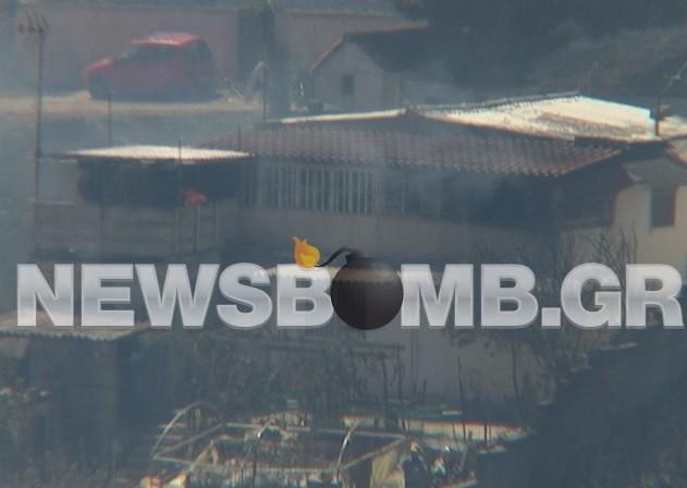 Εικόνες καταστροφής από τη μεγάλη πυρκαγιά στον Μαραθώνα (pics-vid)
