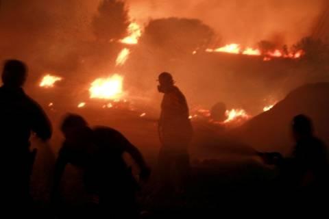 Τεράστια η καταστροφή από την πυρκαγιά στη Βαρυμπόμπη