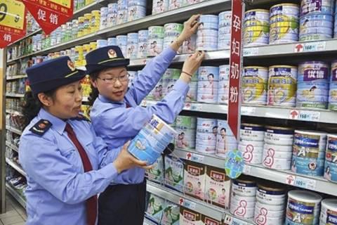 Βαριά πρόστιμα σε έξι γαλακτοβιομηχανίες στην Κίνα