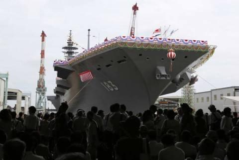 «Πρόκληση» για τη Β. Κορέα το ελικοπτεροφόρο της Ιαπωνίας