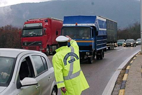 Απαγόρευση κυκλοφορίας των φορτηγών τον Δεκαπενταύγουστο