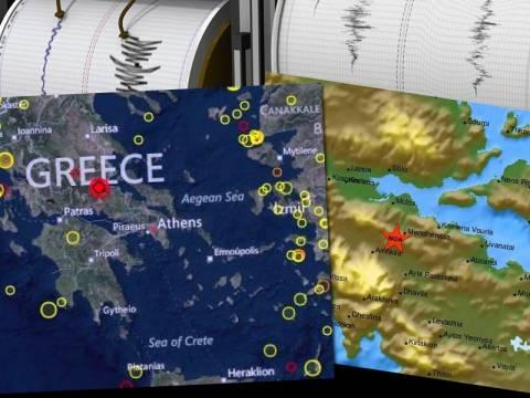 Ισχυρός σεισμός στην Ελάτεια - Αισθητός και στην Αττική