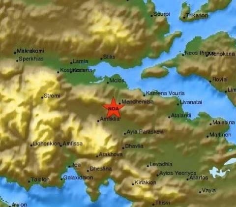 Σεισμός - Δήμαρχος Αμφίκλειας–Ελάτειας: Δεν υπάρχουν θύματα και ζημιές