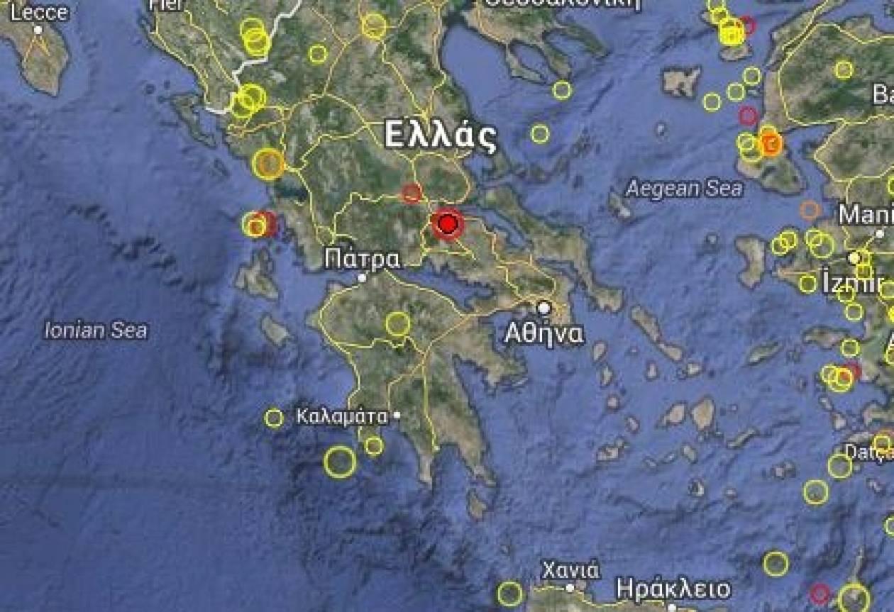 Σεισμός στη Φθιώτιδα: Νέα σεισμική δόνηση