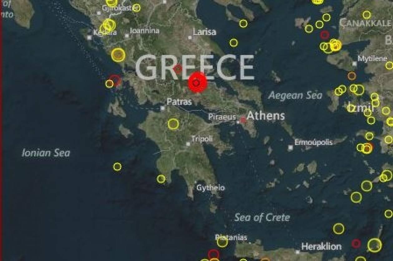 ΕΚΤΑΚΤΟ: Νέος σεισμός 4,8 Ρίχτερ στην Αμφίκλεια