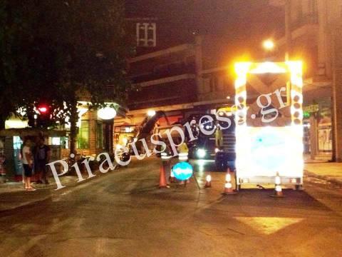 ΔΗΜΟΣ ΠΕΙΡΑΙΑ: Ασφαλτοστρώσεις δρόμων σε Π. Κοκκινιά και Α. Σοφία