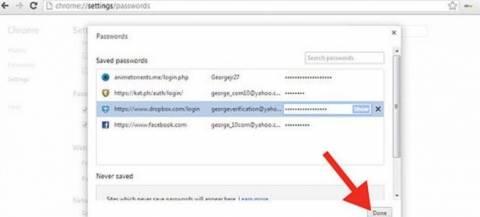 Ο Google Chrome μαρτυράει τους κωδικούς σας