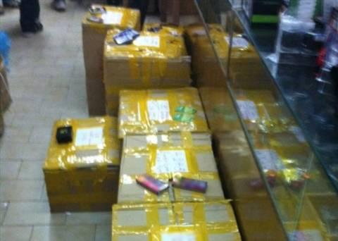 Χιλιάδες παράνομα φαρμακευτικά σκευάσματα σε κατάστημα στο κέντρο