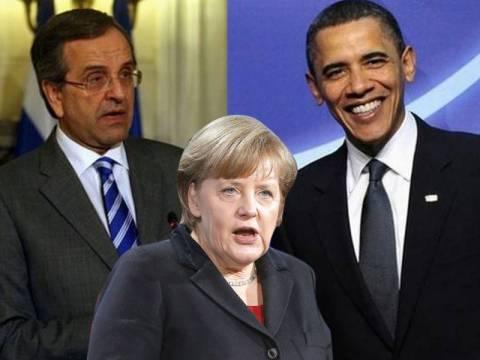 «Ο Ομπάμα μέσω Σαμαρά θα στείλει μήνυμα στη Μέρκελ»