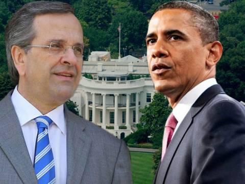 Σε εξέλιξη η συνάντηση Σαμαρά-Ομπάμα