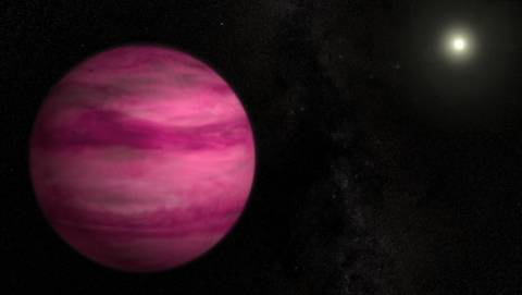 Ο ελαφρύτερος εξωπλανήτης έχει χρώμα ροζ