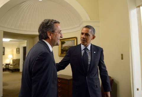 Τι έκανε ο Ομπάμα μετά τη συνάντηση με τον Α. Σαμαρά