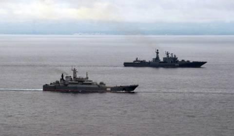 Πάνω από 30 πλοία στα γυμνάσια του στόλου του Ειρηνικού της ΡΟ