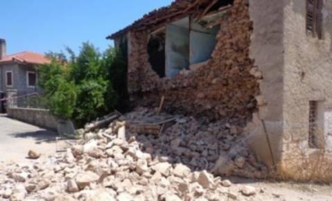 Σεισμός Φθιώτιδα: «Κόκκινα» δεκάδες σπίτια