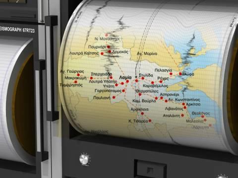 Νέος σεισμός 4,8 Ρίχτερ στην περιοχή της Αταλάντης