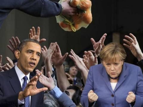 Γερμανία:Ας λέει ο Ομπάμα-Επιμένουμε σε λιτότητα και «ψαλίδι» μισθών