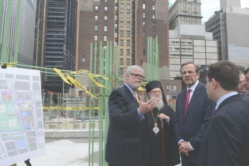 Ο Αντώνης Σαμαράς επισκέφθηκε το Ground Zero