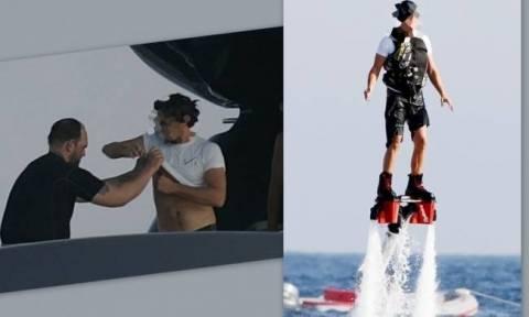 Έκανε extreme water sport και τραυματίστηκε!